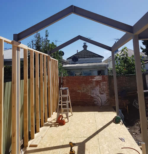 fabricated steel frames for homes
