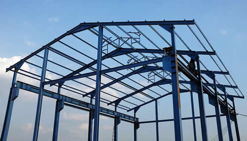fabricated steel frames for commercial buildings